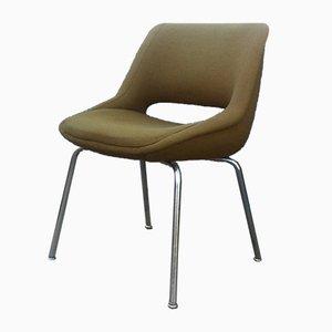 Mid-Century Kilta Stuhl in Olivgrün von Olli Mannemaa für Martela Oy