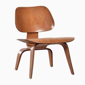 Amerikanischer LCW Sessel aus Esche von Charles & Ray Eames für Herman Miller, 1949