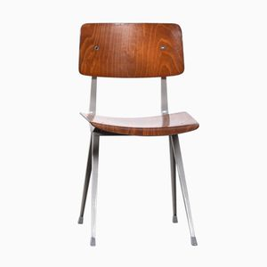 Mid-Century Result Plywood Chair by Friso Kramer for Ahrend de Cirkel