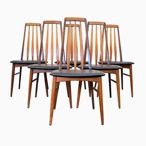 Eva Dining Chairs by Niels Koefoed for Koefoeds Hornslet, Set of 6