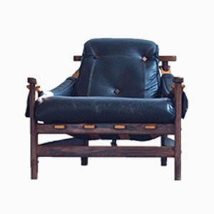 Brasilianischer Bertioga Stuhl von Jean Gillon für Wood Art Brazil, 1960er
