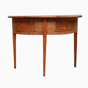 Swedish Console Table with Drawers, 1800s