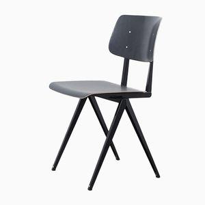 Schwarzer Vintage S16 Stuhl aus Rotbuche von Galvanitas
