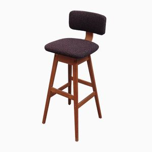 Mid-Century Danish Bar Stool from AS Vamdrup Stolefabrik
