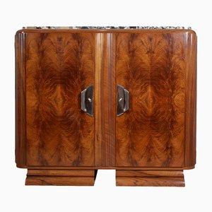Art Deco Walnut Sideboard from Guerin, 1920s