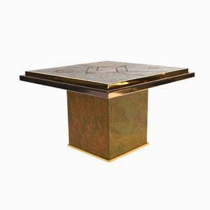 Vintage Brutalist Side Table from Fedam