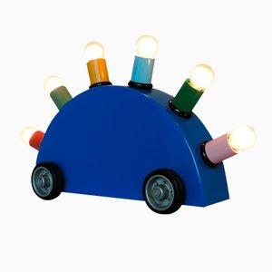Lampe Super Postmoderne par Martine Bedin pour Memphis Milano