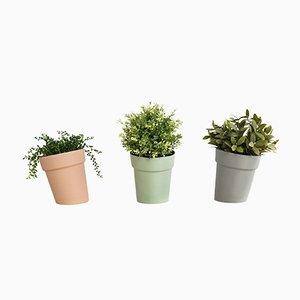 Distorted Flowerpots from Studio Lorier, Set of 3