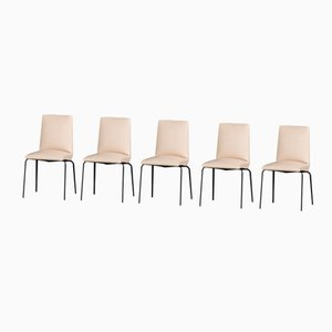 Mid-Century Dining Chairs by Pierre Guariche for Meurop, Set of 5