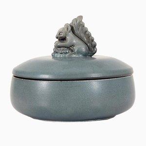 Piatto con coperchio in ceramica di Bing e Grondhal