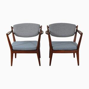 Kaminstolen Chairs by Fredrik Kayser for Rastad & Relling, Set of 2