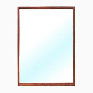 Dänischer Spiegel mit Rahmen aus Rio Palisander von Kai Kristiansen für Aksel Kjersgaard, 1960er
