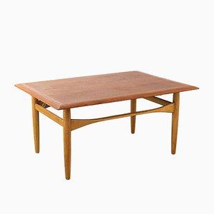 Niederländischer Tisch aus Teakholz & Eiche von Aksel Bender Madsen für Bovenkamp, 1960er