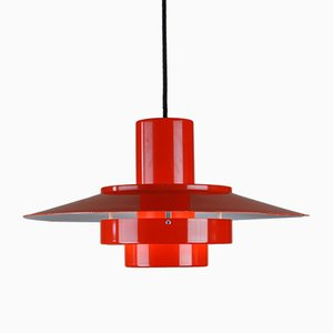 Danish Falcon Pendant Lamp by Andreas Hansen for Fog and Mørup, 1960s
