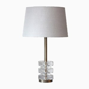 Swedish Table Lamp by Carl Fagerlund for Orrefors