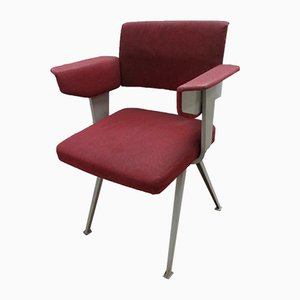 Dutch Industrial Resort Armchair by Friso Kramer for Ahrend de Cirkel, 1960s