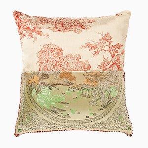 Flagmented Pillow G by CTRLZAK Studio