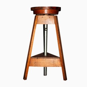 Sculpture Stand Side Table, 1940s
