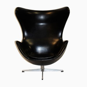 Vinyl Egg Chair by Arne Jacobsen for Fritz Hansen, 1961
