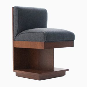 Oak Veneer Chair by Richard Neutra for Maximilian, 1940