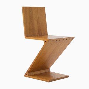 Zig Zag Chair by Gerrit Rietveld, 1969