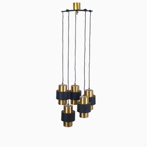 Mid-Century Chandelier by Jo Hammerborg for Fog & Morup