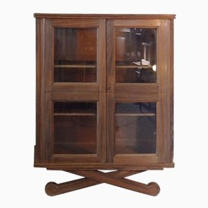 Vintage Showcase with Two Doors