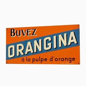 Insegna pubblicitaria vintage di Orangina, Francia