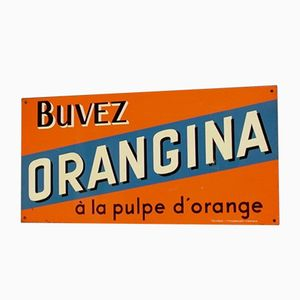 Vintage French Orangina Advertisment