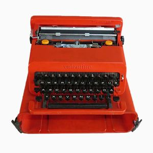 Portable Valentine Typewriter by Ettore Sotsass for Olivetti, 1969