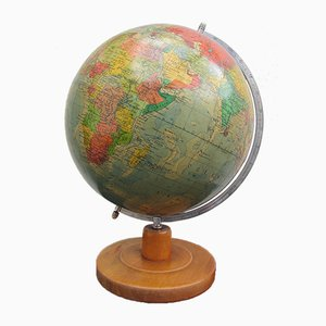 Vintage Globus von Paul Räth Nachf. KG, 1950er