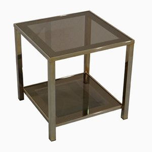 Vintage 23 Kt Gilded Side Table from Belgochrom