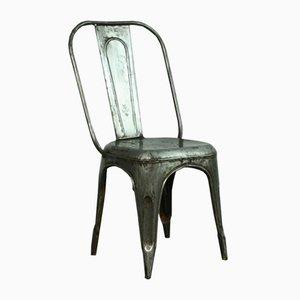 Französischer Vintage AC Tolix Stuhl aus Verzinktem Stahl von Xavier Pauchard für Tolix