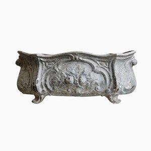 Porte-Pot Antique en Fer Forgé