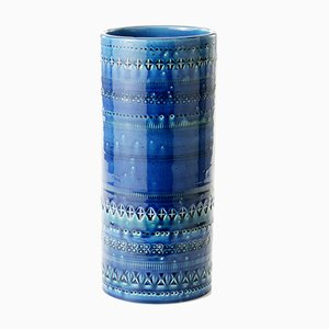 Rimini Cylindrical Vase by Aldo Londi for Bitossi