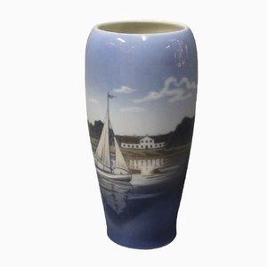 Vase à Motif de Port de Royal Copenhagen, Danemark, 1980s
