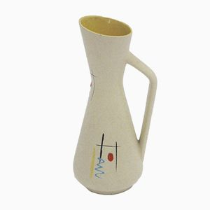 Glazed Ceramic Jug, 1950s