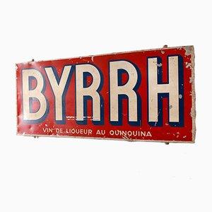 Panneau Publicitaire Vintage pour Byrrh, 1956