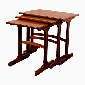 Vintage Danish Nesting Tables Set