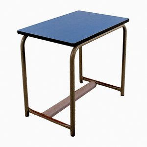 Blue Children's Desk by Willy Van der Meeren for Tubax