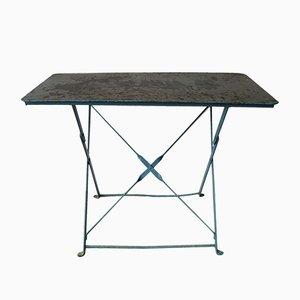 Belgian Industrial Steel Garden Table