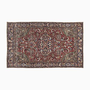 Multicolored Over Dyed Vintage Rug from Turkey