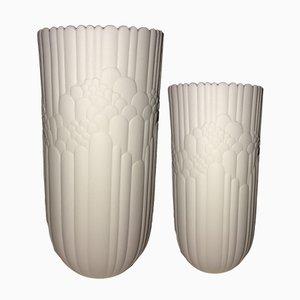 Mid-Century Biskuitporzellan Vasen von Rosamunde Nairac für Rosenthal Studio Line, 1960er, 2er Set
