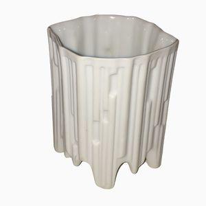 Mid-Century Biskuitporzellan Vase von Hutschenreuther, 1960er