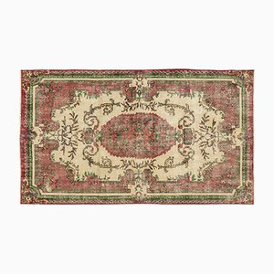 Over Dyed Vintage in Red and Green Rug