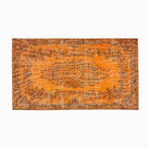 Tapis Reteint Vintage Orange, Turquie