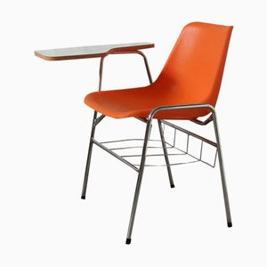 School Chair with Tablet by Robin Day for Hille / Maga, 1970s