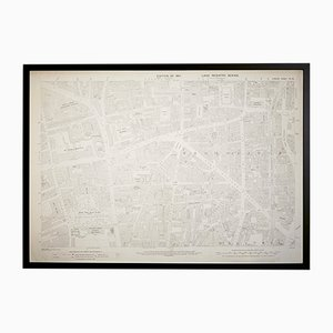 Vintage London Shoreditch Ordnance Survey Map