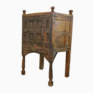 Antique Carved Dowry Chest