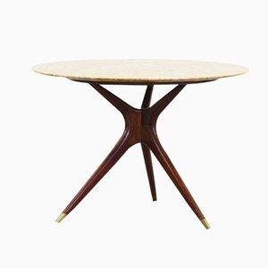 Table de Salle à Manger Ronde par Ico Parisi pour Ariberto Colombo, 1949